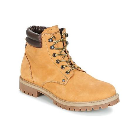 Jack Jones STOKE NUBUCK BOOT men's Mid Boots in Brown Jack & Jones