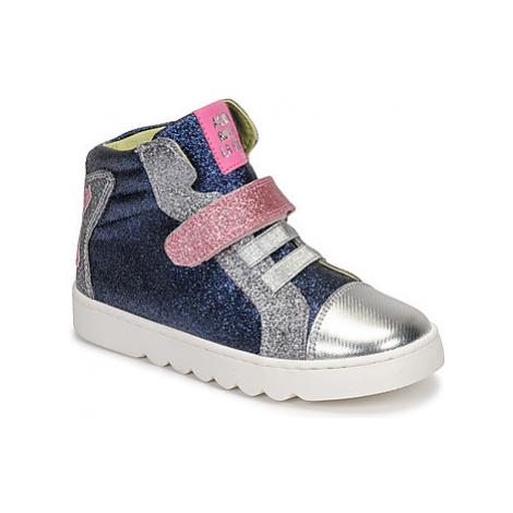 Agatha Ruiz de la Prada HOUSE girls's Children's Shoes (High-top Trainers) in Blue