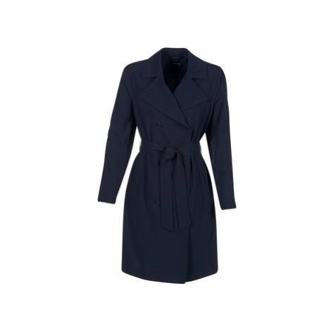Armani jeans HAVANOMA women's Trench Coat in Blue