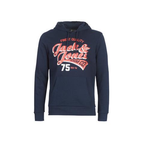 Jack Jones JJELOGO men's Sweatshirt in Blue Jack & Jones