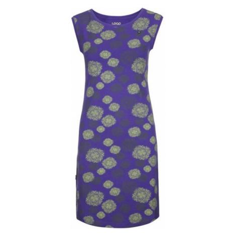 Loap ADENKA violet - Women's dress