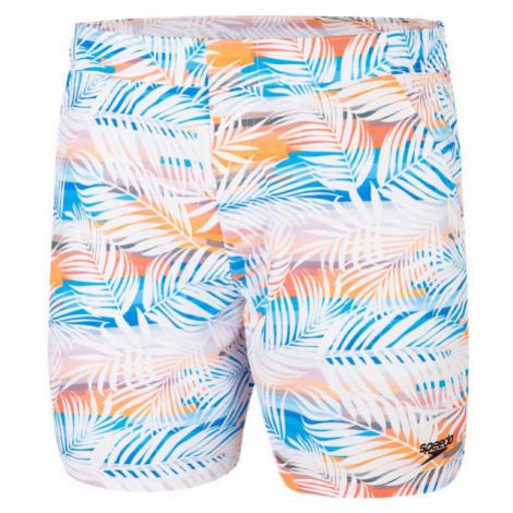 Speedo VINTAGE PARADISE 16 WATERSHORT white - Men's shorts