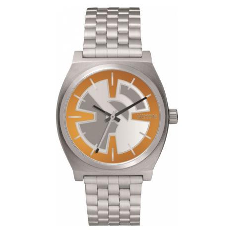 Unisex Nixon The Time Teller SW BB-8 Orange / Black Watch
