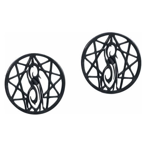 Slipknot - Nonagram Logo - Earpin - black