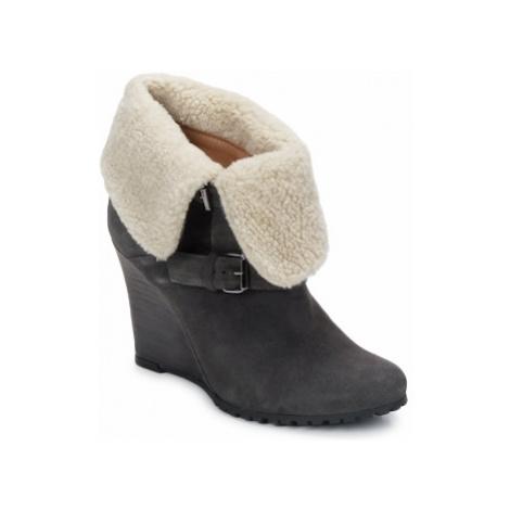 Atelier Voisin CARLA women's Low Ankle Boots in Grey