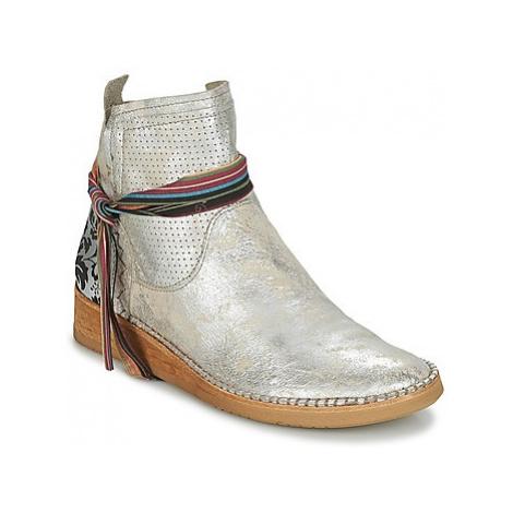 Felmini BRIGHT women's Mid Boots in Silver