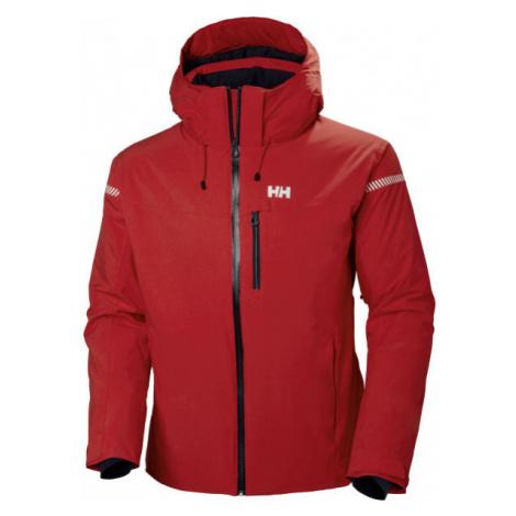 Helly Hansen SWIFT 4.0 JACKET red wine - Men's ski jacket