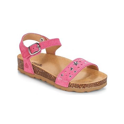 Citrouille et Compagnie IHITO girls's Children's Sandals in Pink