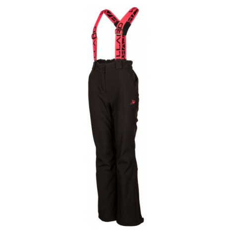Willard ELOMA black - Women's softshell trousers