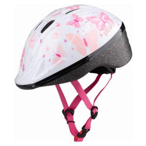 Arcore WAPI white - Girls' cycling helmet