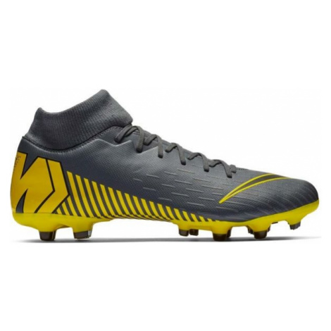 Nike MERCURIAL SUPERFLY VI ACADEMY MG yellow - Men's football cleats