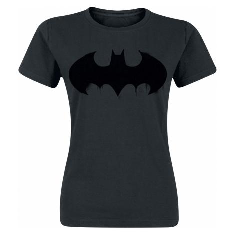 Batman - Logo - Girls shirt - black