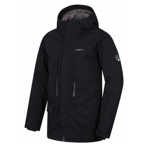 Hannah NICON black - Men's winter coat with a membrane