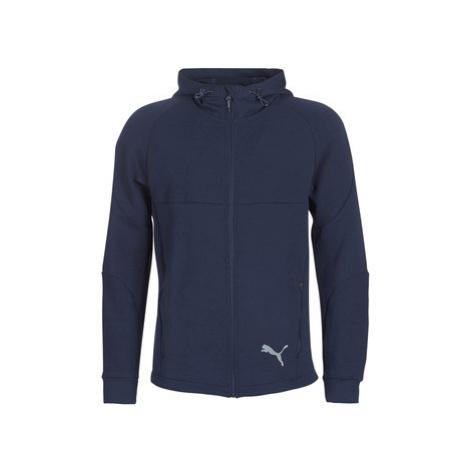 Puma EVOSTRIPE FZ HOODY men's Tracksuit jacket in Blue