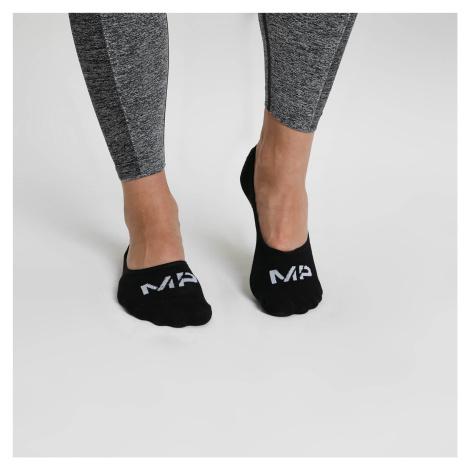 MP Women's Essentials Invisible Socks - Black (3 Pack)M - UK 3-6 Myprotein