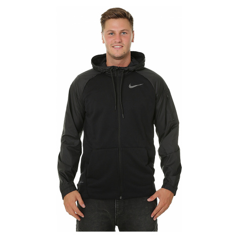 sweatshirt Nike Dri-Fit Zip - 010/Black/Metallic Hematite - men´s