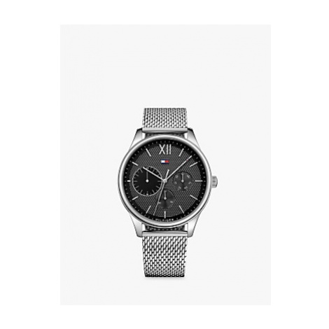 Tommy Hilfiger Men's Single Chronograph Day Mesh Bracelet Strap Watch