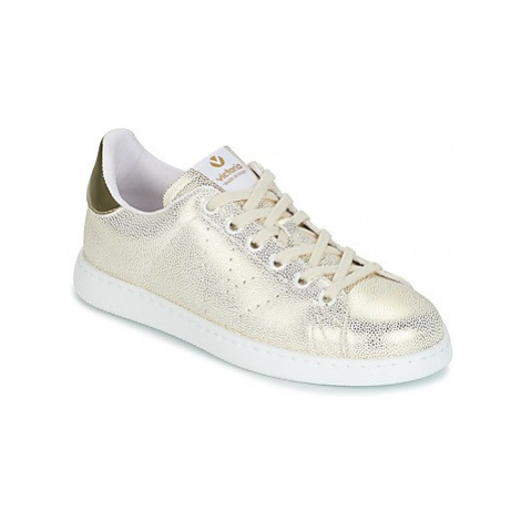 Victoria DEPORTIVO TEJIDO FANTASIA women's Shoes (Trainers) in Gold