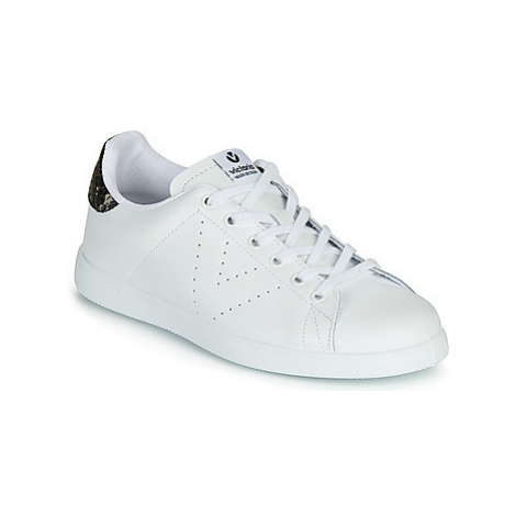 Victoria TENIS PIEL women's Shoes (Trainers) in White