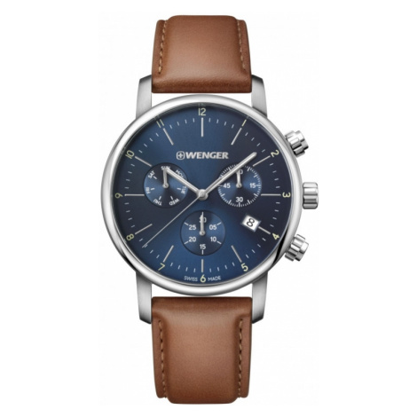 Mens Wenger Urban Classic Chrono Chronograph Watch 011743104