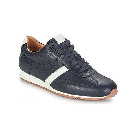 BOSS ORLAND LOWP TB men's Shoes (Trainers) in Blue Hugo Boss