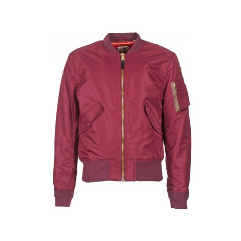 Schott BOMBER BY SCHOTT men's Jacket in Bordeaux Schott NYC