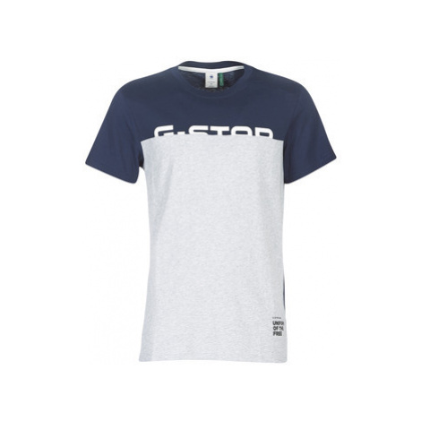 G-Star Raw GRAPHIC 13 men's T shirt in Blue