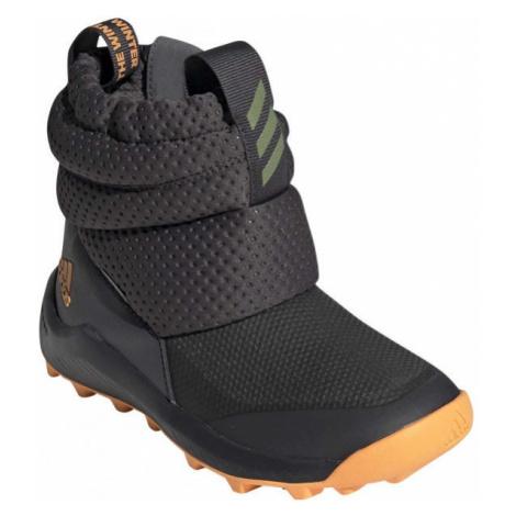 adidas RAPIDASNOW C dark gray - Kids' winter shoes
