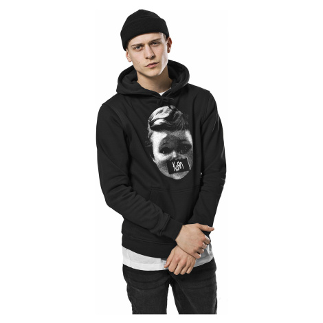 sweatshirt Urban Classics Korn Baby Hoody/MC048 - Black - men´s