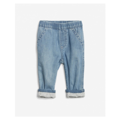 Blue boys' trousers and jeans