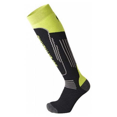 Mico SUPERTHERMO JR black - Children's ski socks