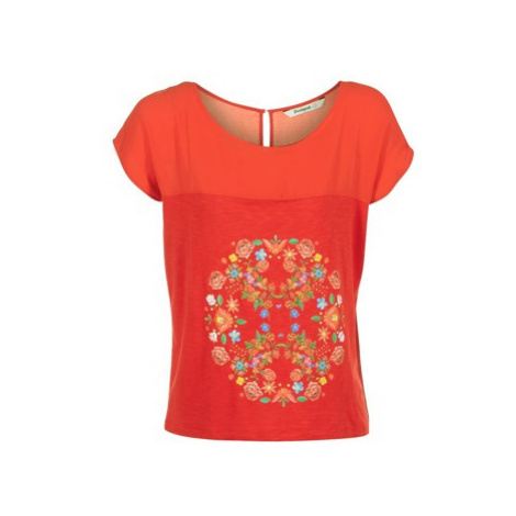 Desigual RICOL women's T shirt in Red
