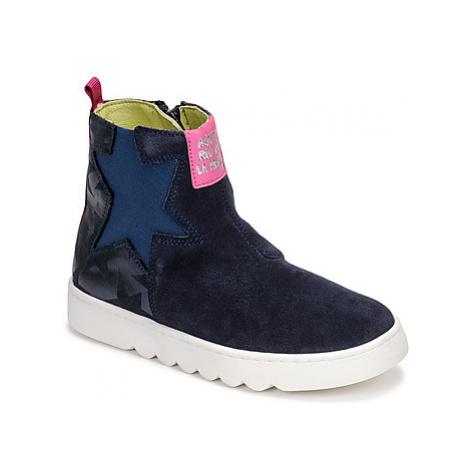 Agatha Ruiz de la Prada HOUSE girls's Children's Mid Boots in Blue