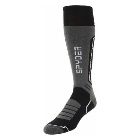Spyder VELOCITY black - Men's skiing socks