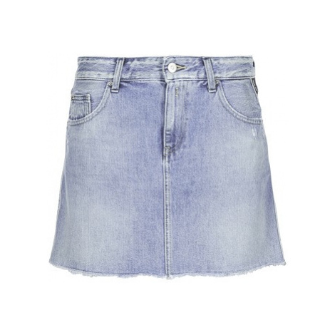 Replay SELO women's Skirt in Blue