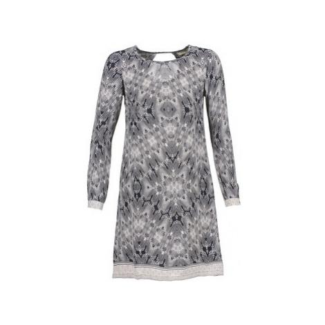 Cream BARBRA women's Dress in Grey