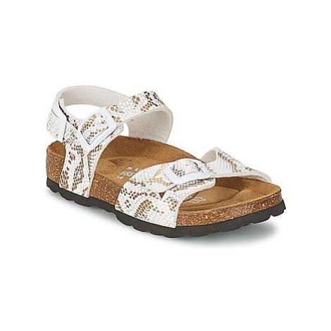 Betula Original Betula Fussbett JEAN girls's Children's Sandals in Gold