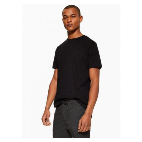 Mens Black Classic T-Shirt, Black Topman