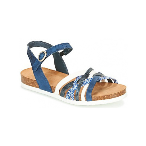 Think CLOE women's Sandals in Blue