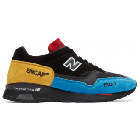 New Balance Made in UK 1500 Urban Peak Shoes - Black/Blue/Yellow