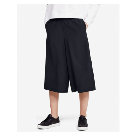 Under Armour Woven Crop Trousers Black