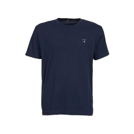 Gant SOLID men's T shirt in Blue