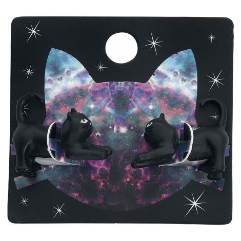 Blackheart - Cats - Earpin set - black
