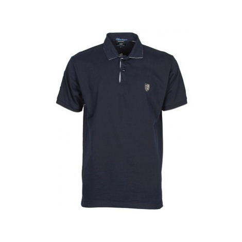 Serge Blanco ATLANTIQUE men's Polo shirt in Blue