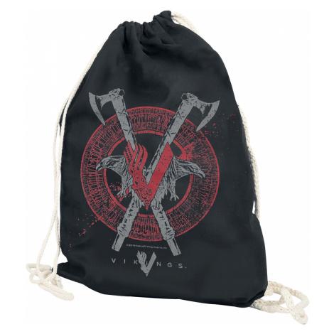 Vikings - Axe & Raven - Gym Bag - black