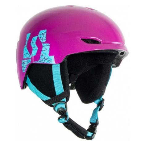 Scott KEEPER 2 purple - Children's ski helmet
