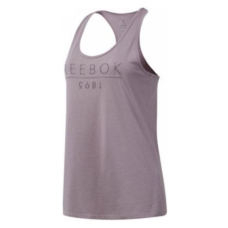 Reebok GS REEBOK 1895 pink - Women's tank top