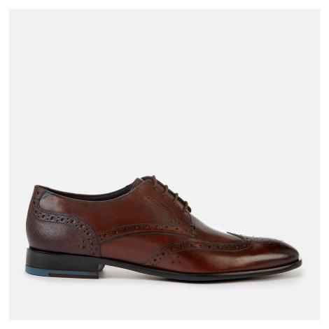 Ted Baker Men's Trvss Leather Derby Shoes - Brown - UK
