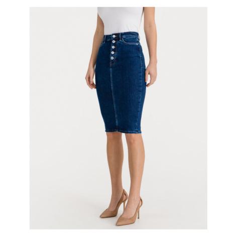 Guess 80s Longuette Skirt Blue