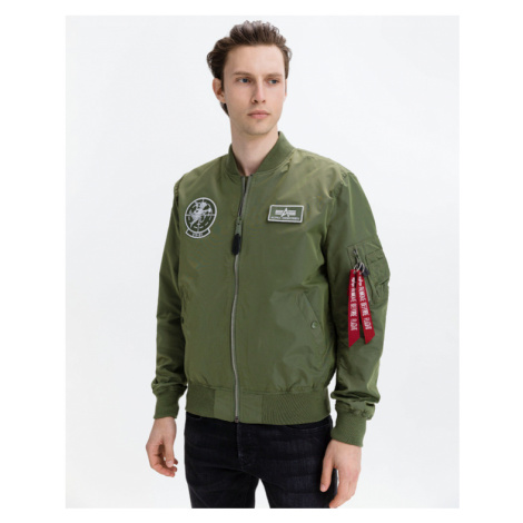 Alpha Industries Glow In The Dark Jacket Green